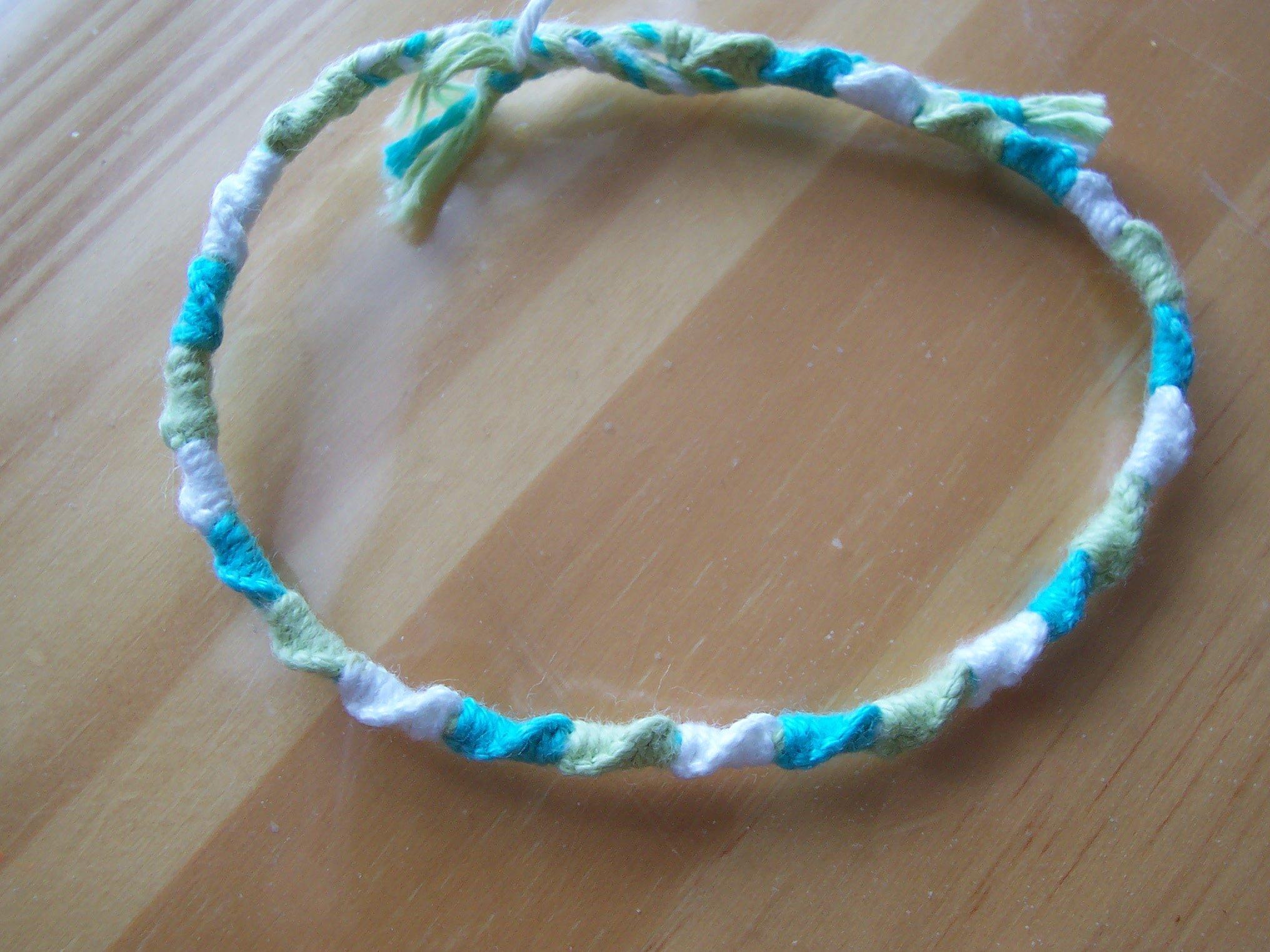 Tresses indiennes avec fils - Longueur fil bracelet bresilien ...